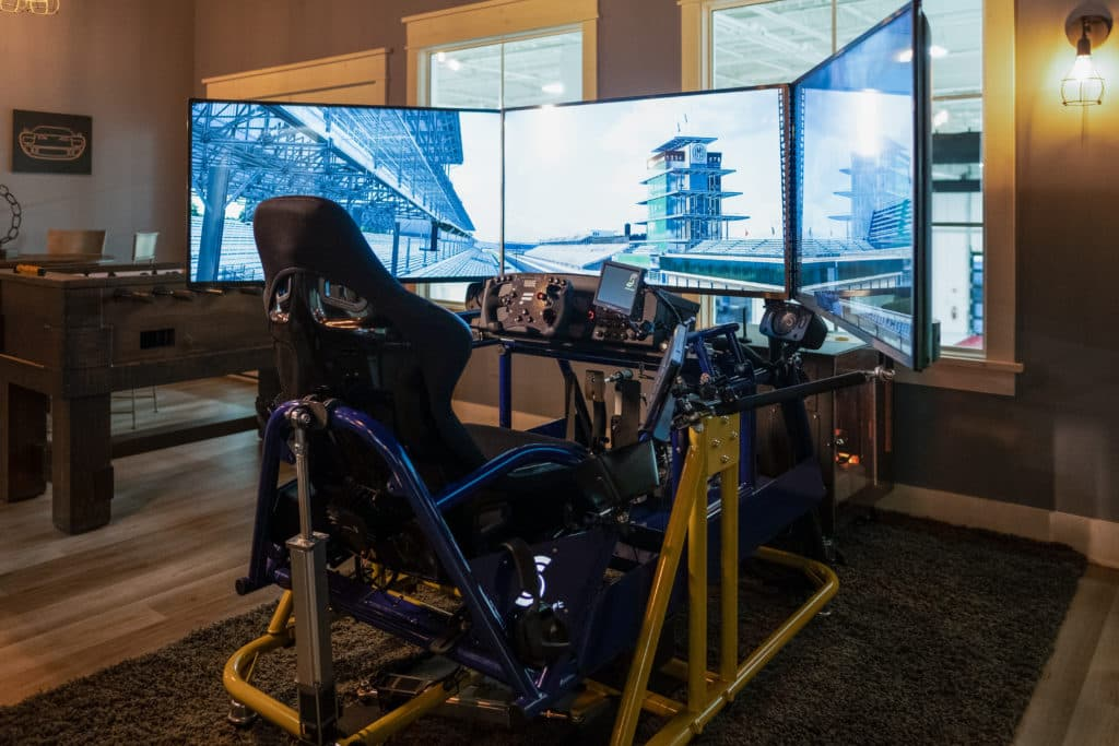 professional racing simulator